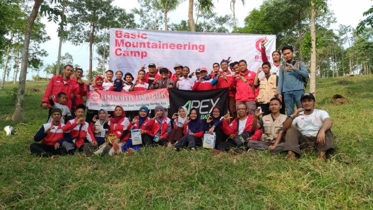 BSMI Pertama Kali Gelar Upgrading Skill Basic Mountaineering Camp