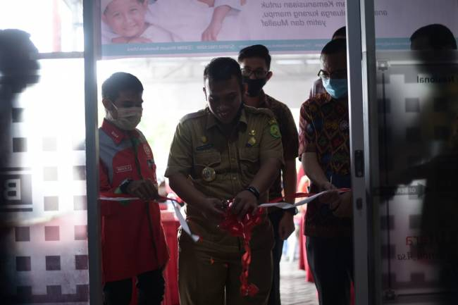 BSMI-UPZ Bank Sumut Launching Program Sosial Kemitraan Sahabat Khitan